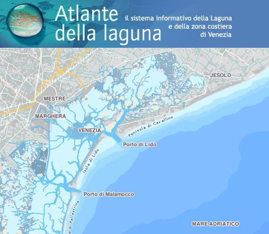 Cartina Laguna Di Venezia.L Atlante Della Laguna Per Conoscere Meglio L Ambiente Fondazione Terra D Acqua Onlus